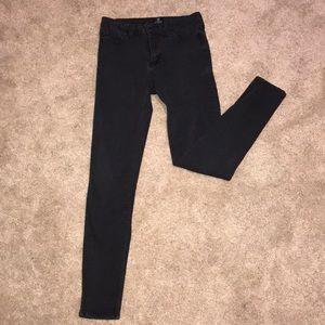 Just Black skinny black jeans